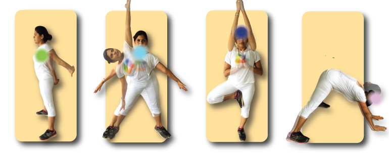This is a short exercise sequence of four flexibility exercises.
