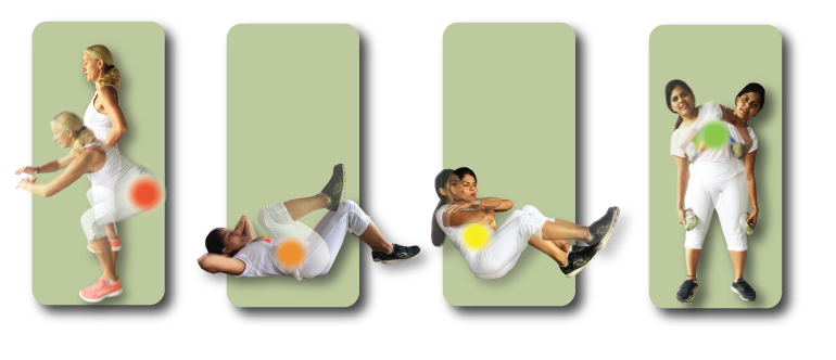 This is a short exercise sequence of four strength exercises.