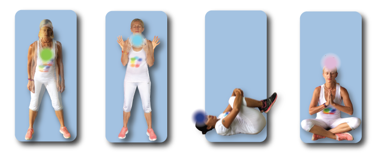 This is a short exercise sequence of four relaxation exercises.