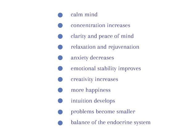 The power of relaxation training