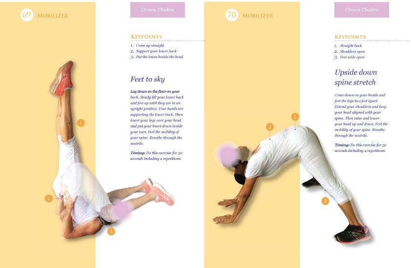 Two exercises to activate the crown chakra