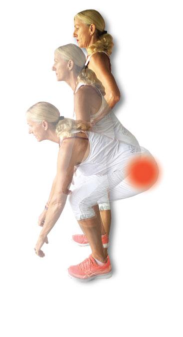 Base chakra exercises - narrow squats & dog squats