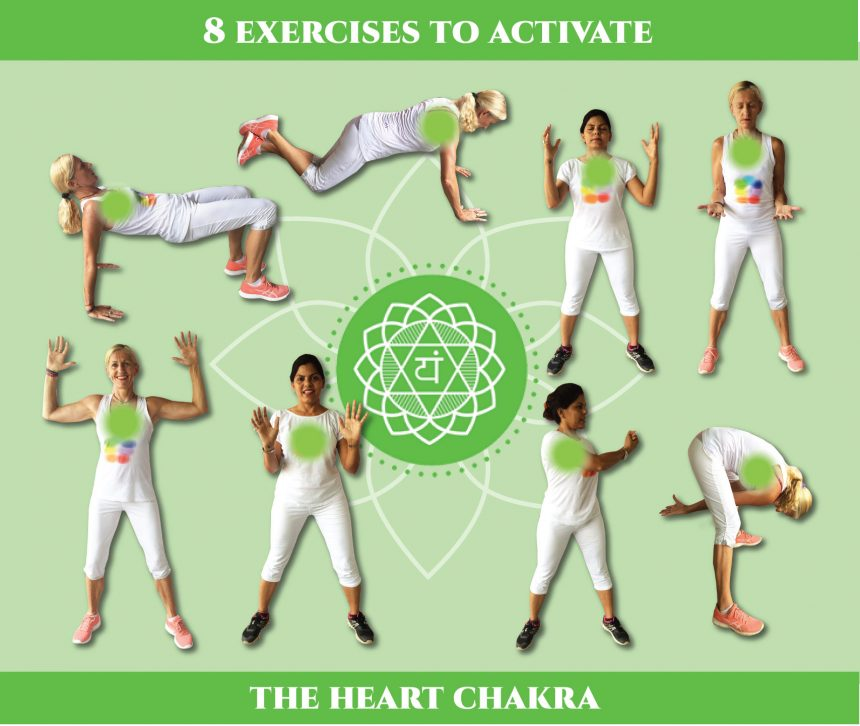 8 exercises to activate the heart chakra
