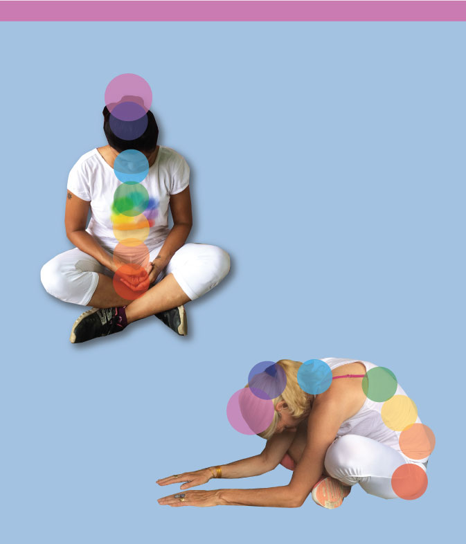 Crown chakra exercises - In awe & One with all