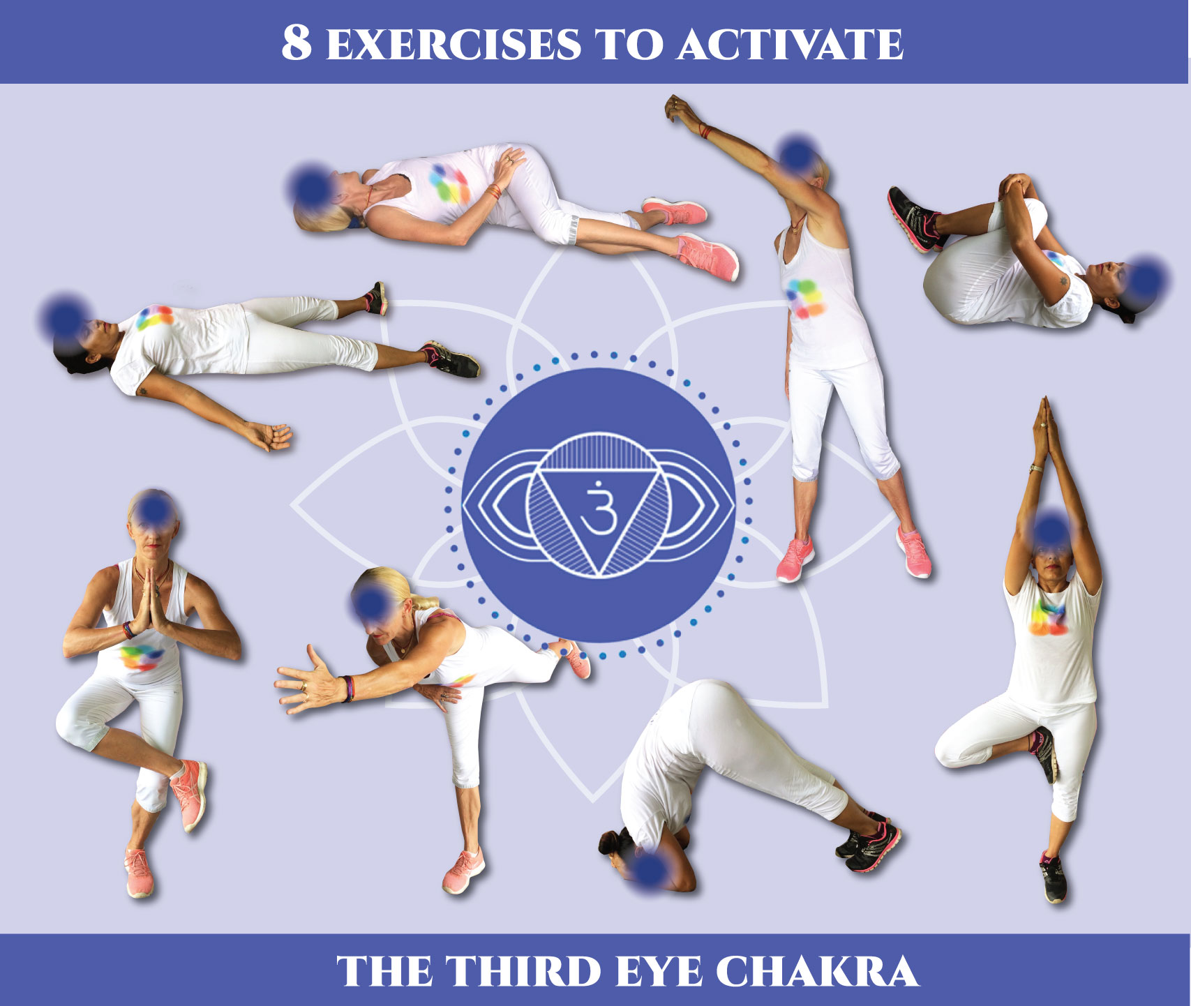 8 exercises to activate the third eye chakra