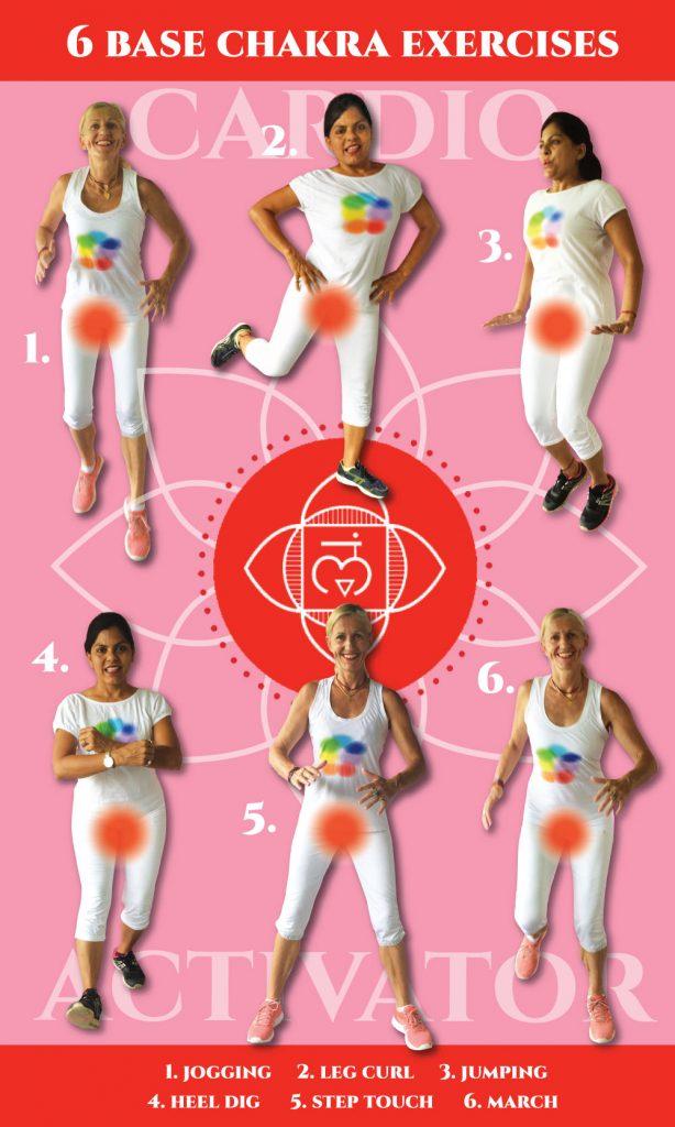 free holistic exercise charts - cardio training