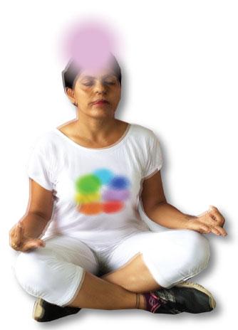 Crown chakra exercises - insight & praying