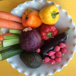 My favorite everyday salad – rainbow salad